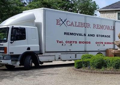 removals lorry