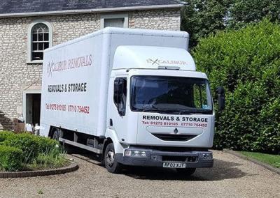 house moving van